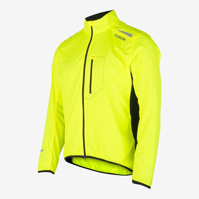 Fusion S1 Run Jacket (Yellow Black)