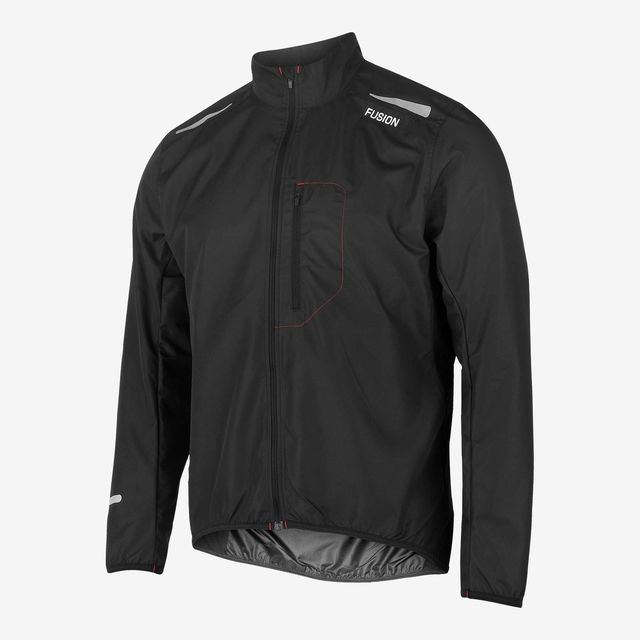 Fusion S1 Run Jacket (Black)