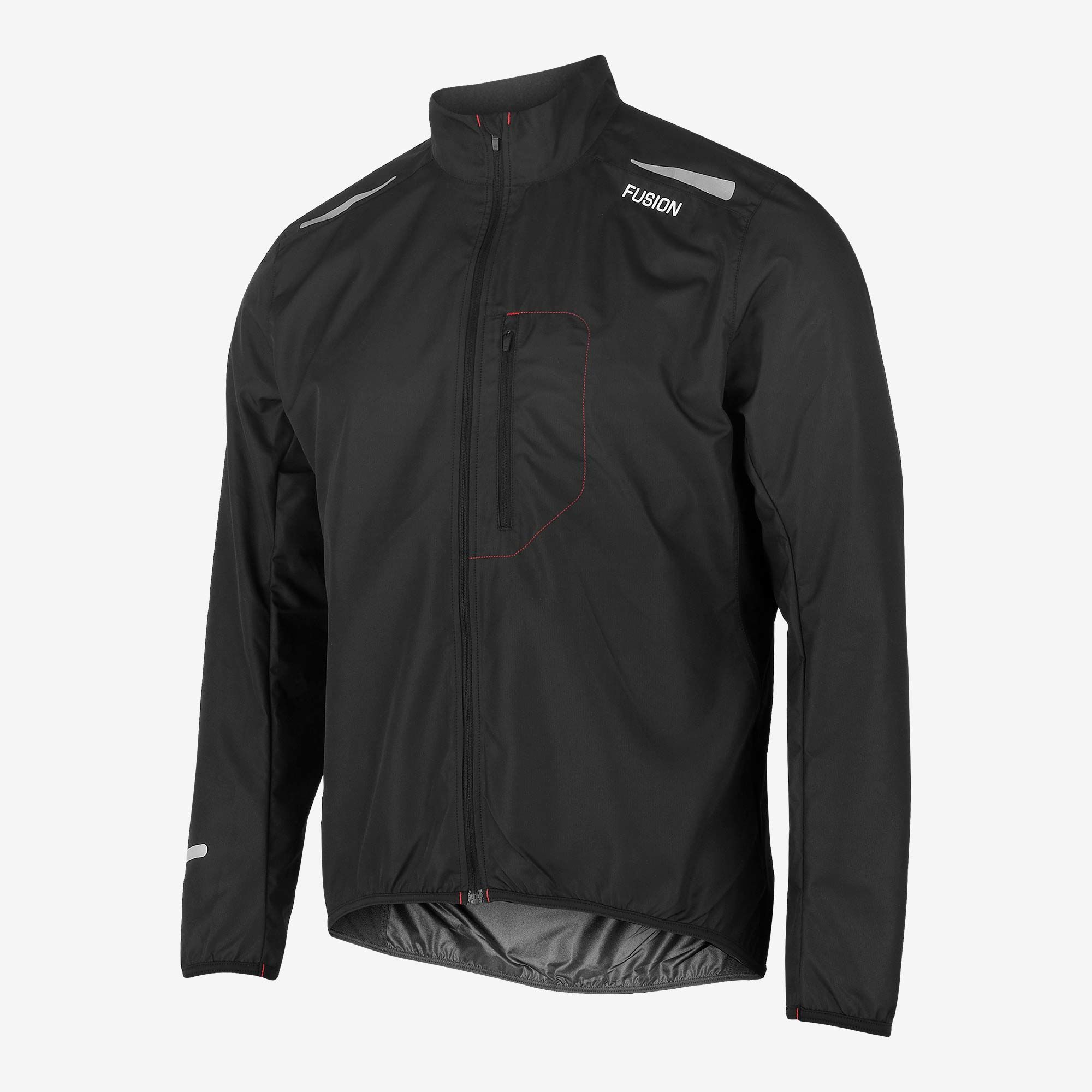 Fusion S1 Run Jacket (Black)