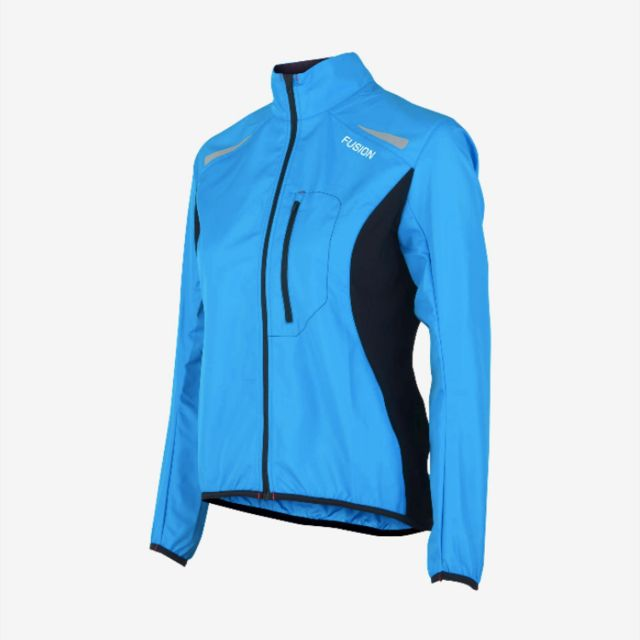 Fusion Women S1 Run Jacket (Surf Blau)