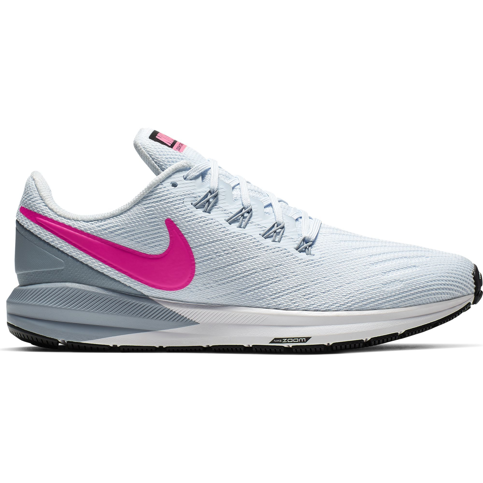 Nike Lady Air Zoom Structure 22 in Grau Pink