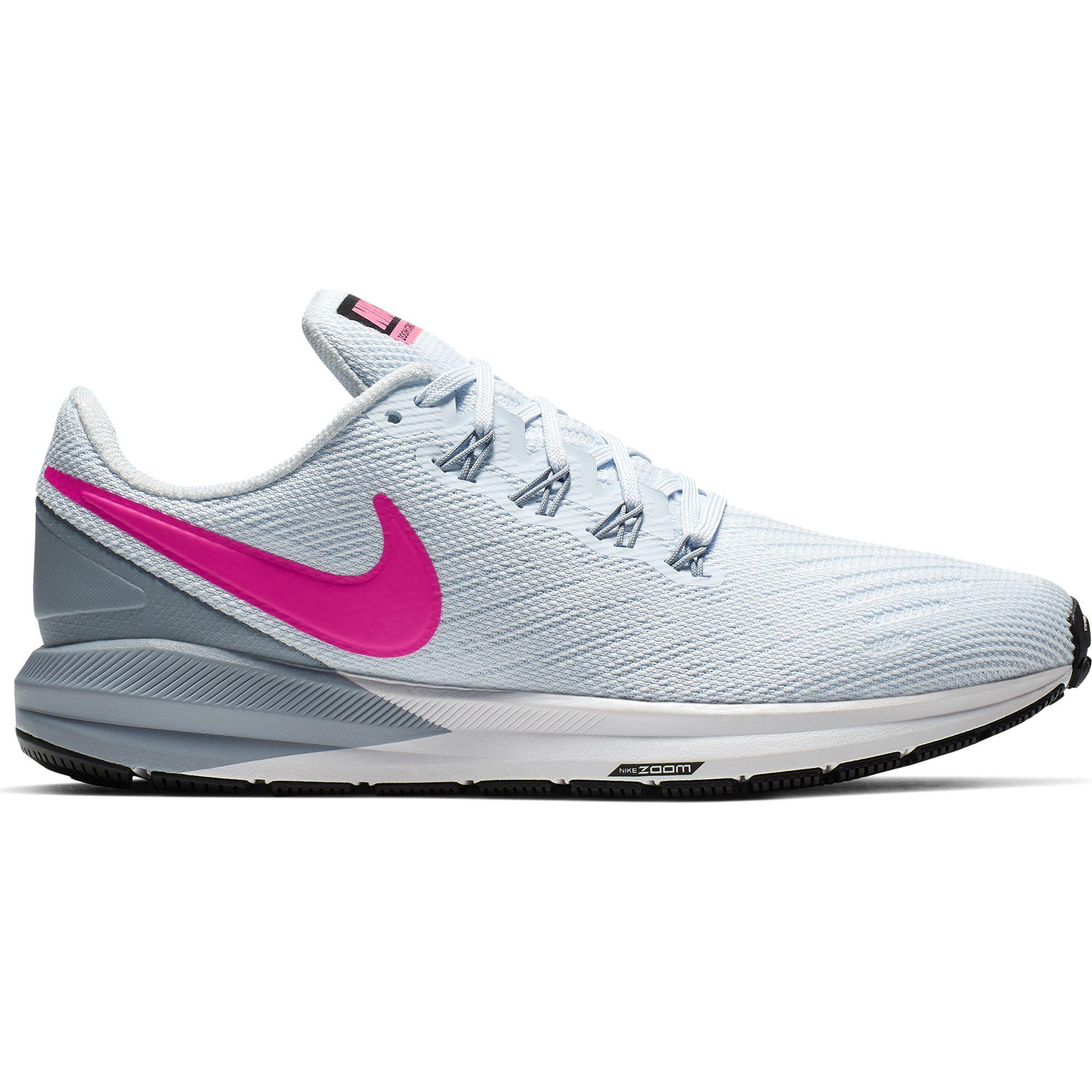 Nike Lady Air Zoom Structure 22 (Grau Pink)