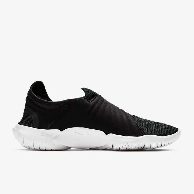 Nike Free RN Flyknit 3.0 (Schwarz Weiß)