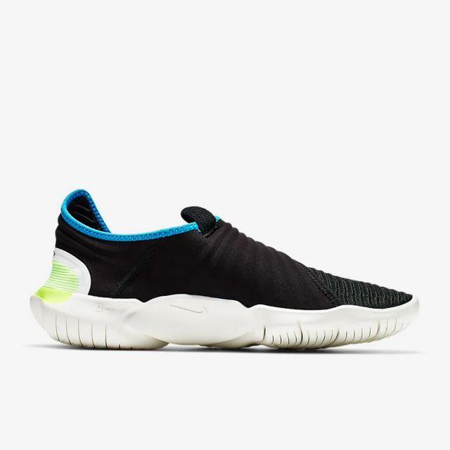 Nike Free RN Flyknit 3.0 (Schwarz Blau)
