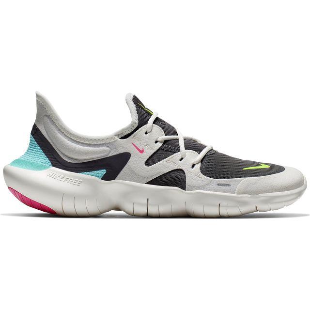 Nike Lady Free RN 5.0 in Weiß Grau Blau