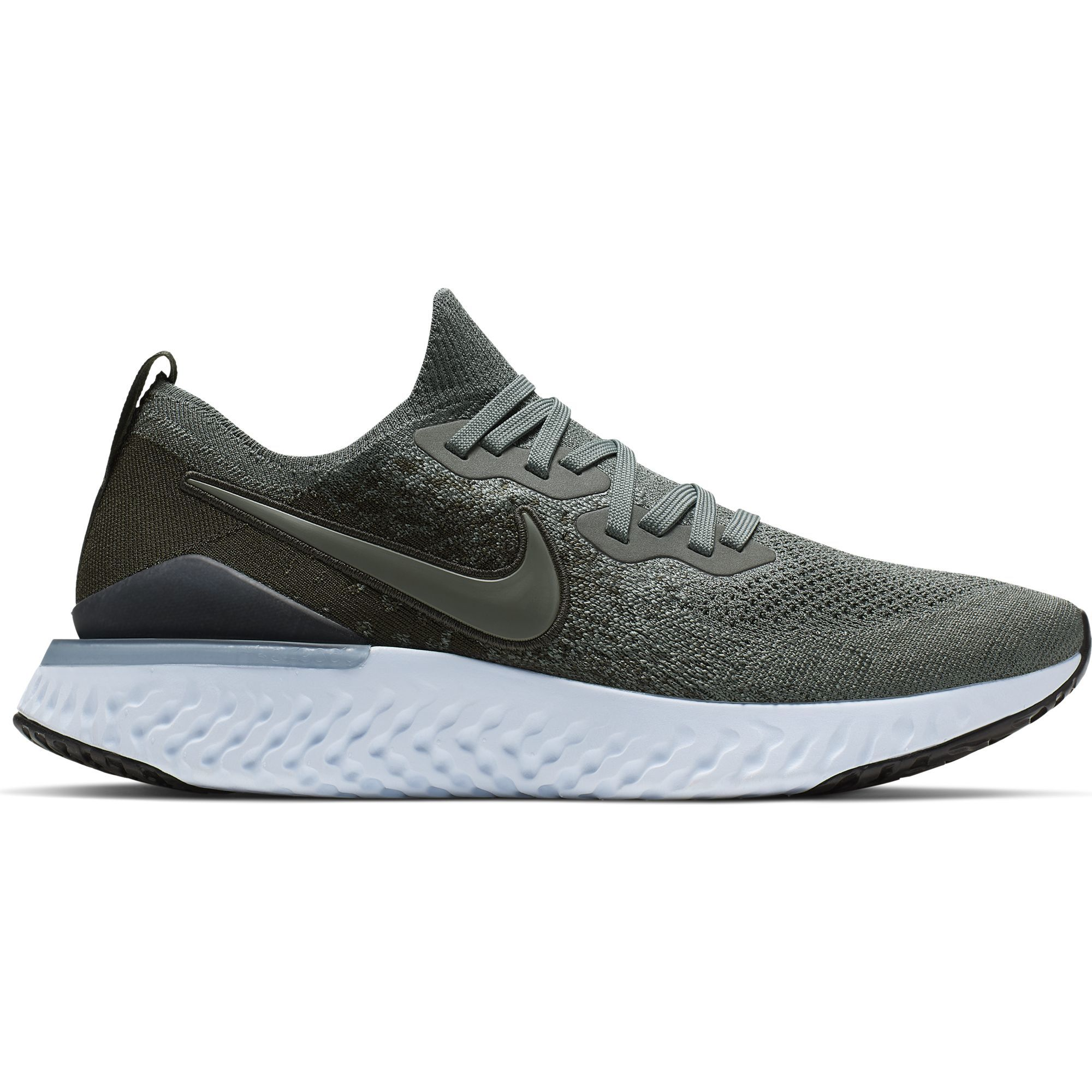 Nike Epic React Flyknit 2 in Oliv
