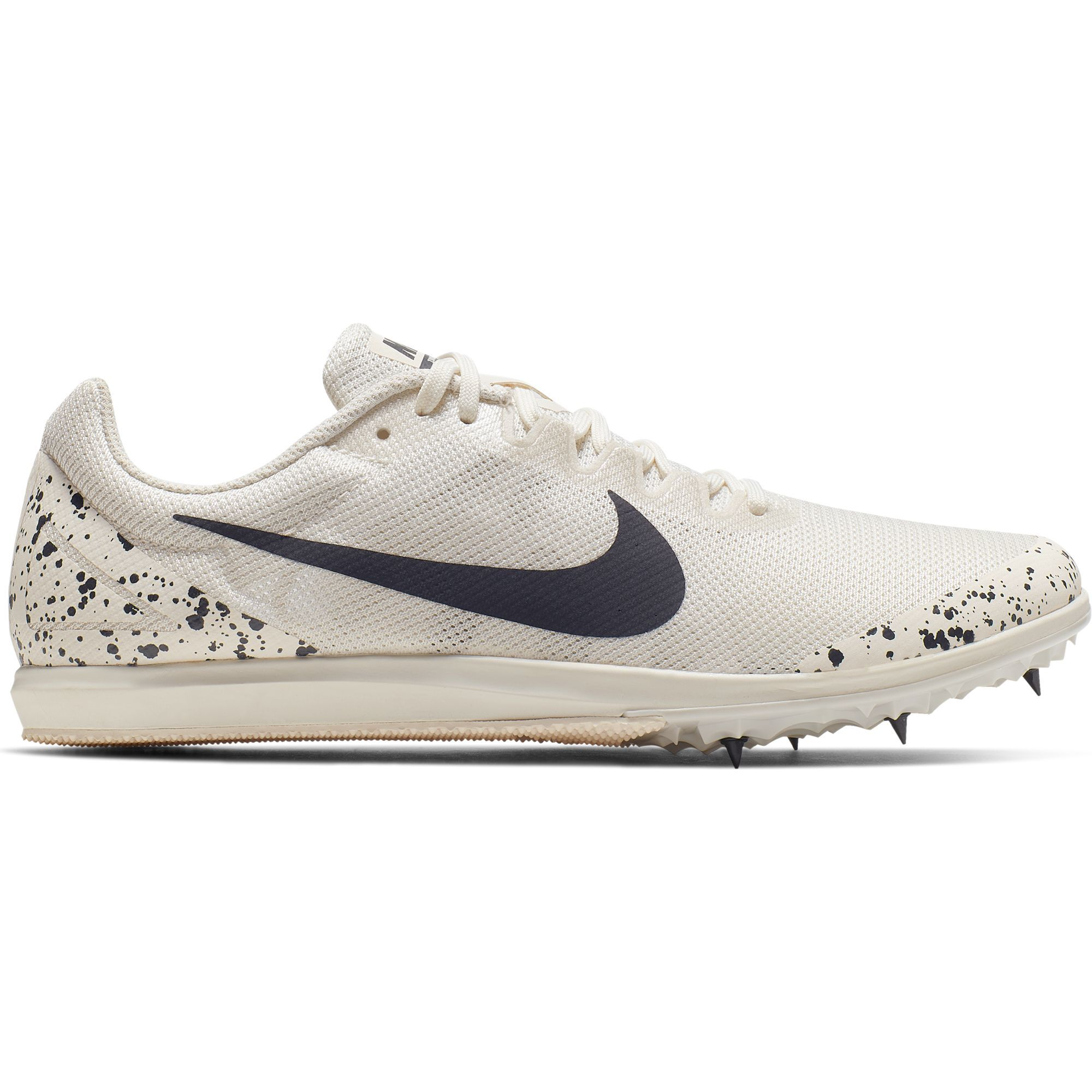 Nike Zoom Rival D 10 in Weiß Grau