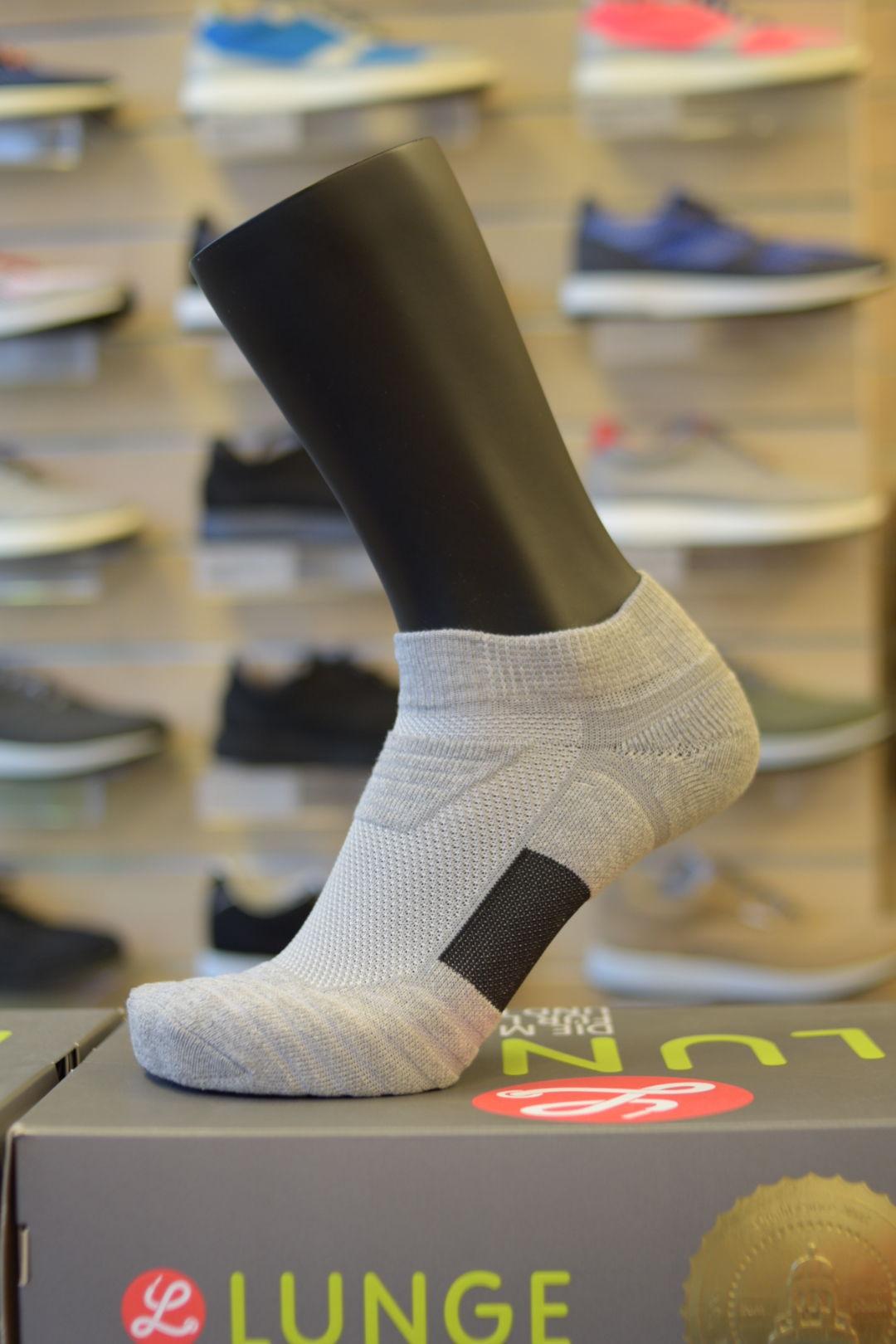 Lunge Socke Lowcut Asphaltgrey (Asphaltgrau)