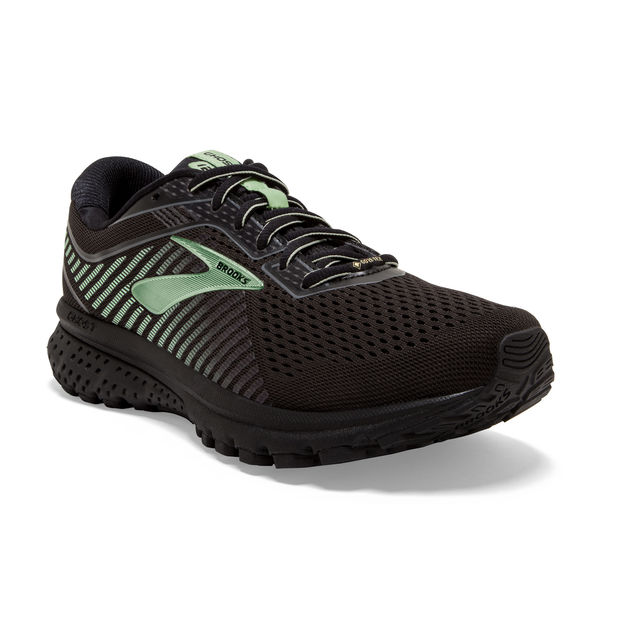 Brooks Lady Ghost 12 GTX in Schwarz Grün