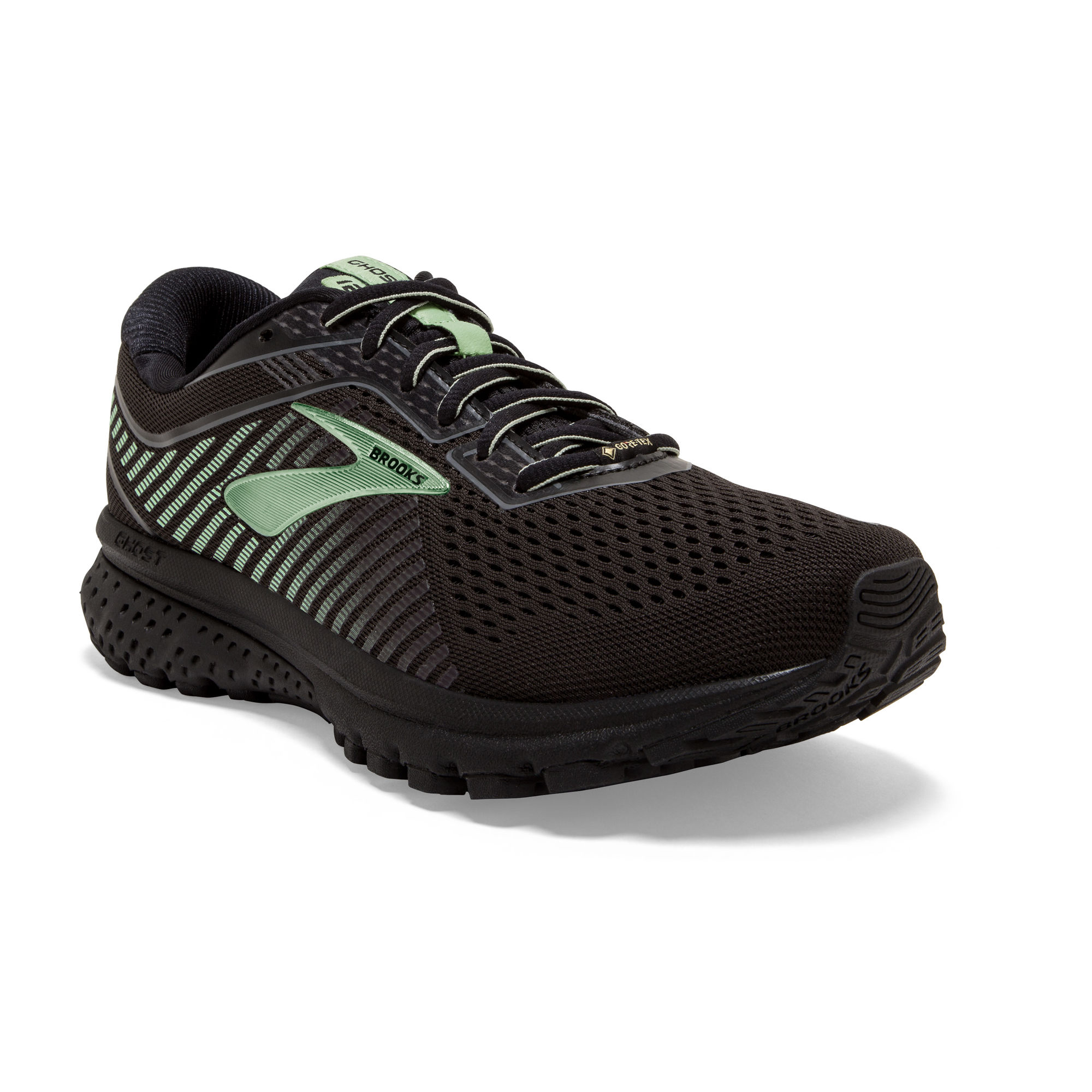 Brooks Lady Ghost 12 GTX (Schwarz Grün)