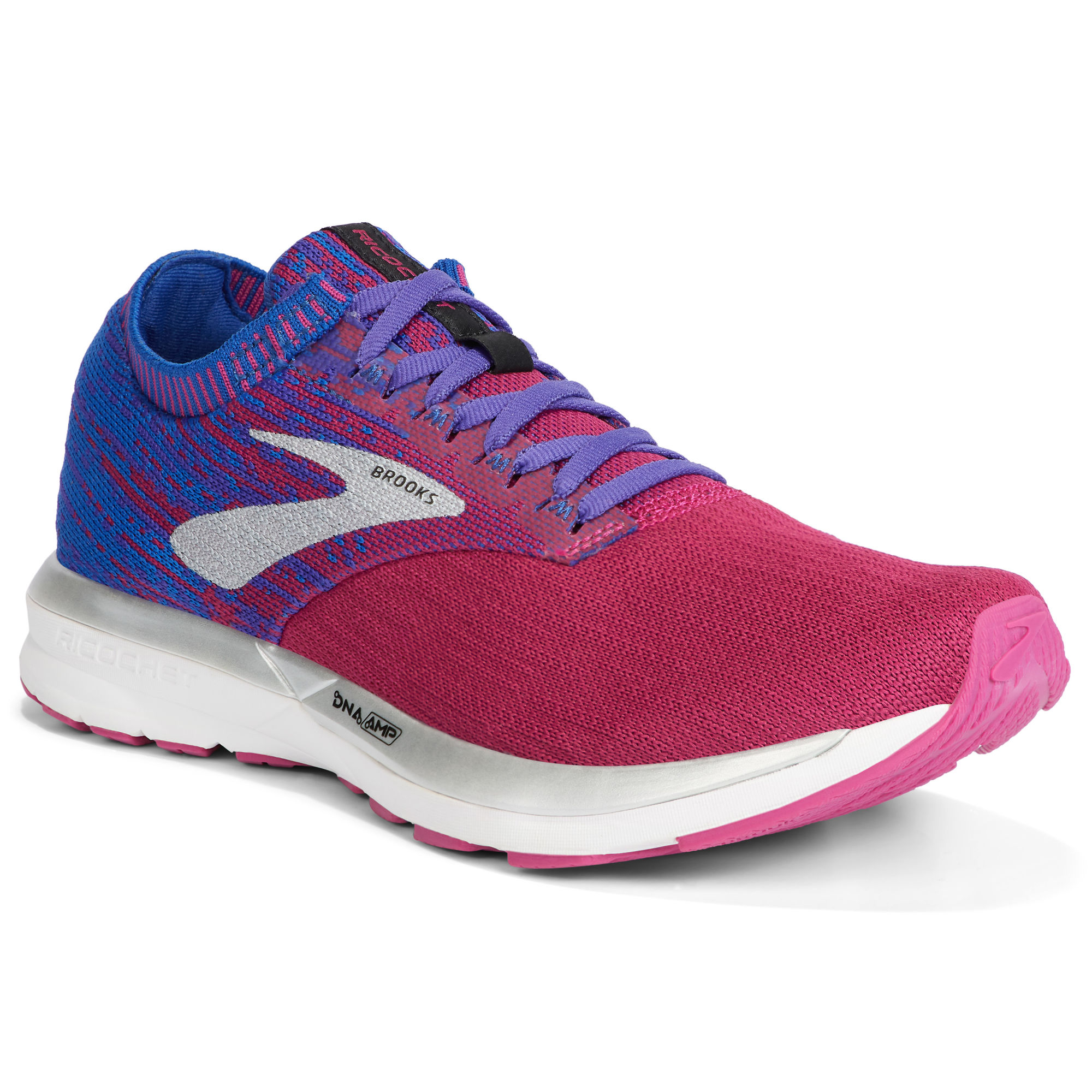 Brooks Lady Ricochet (Rot Blau)