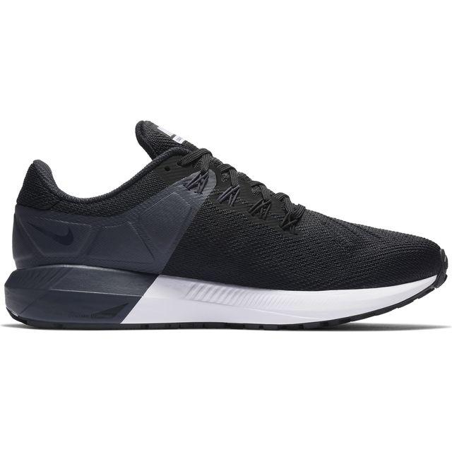 Nike Lady Air Zoom Structure 22 in Schwarz Weiß