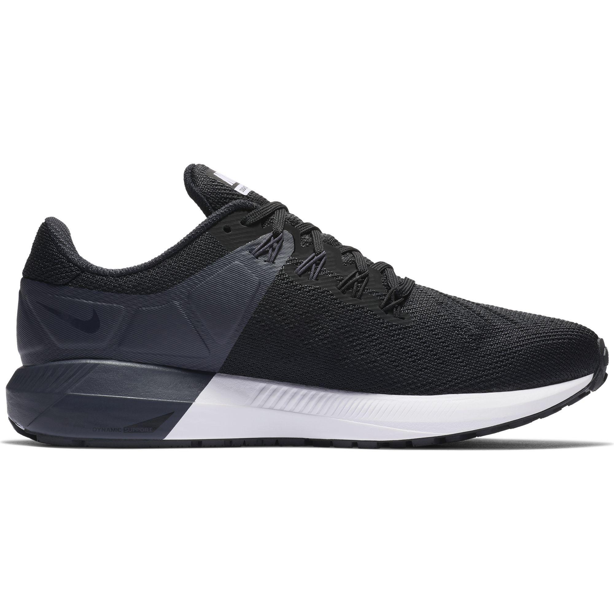 Nike Lady Air Zoom Structure 22 (Schwarz Weiß)