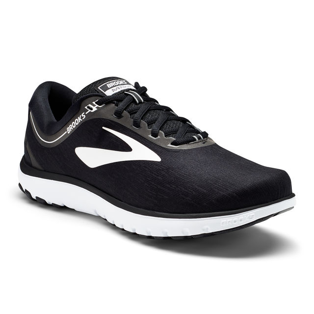 Brooks Lady PureFlow 7 in Schwarz Weiß