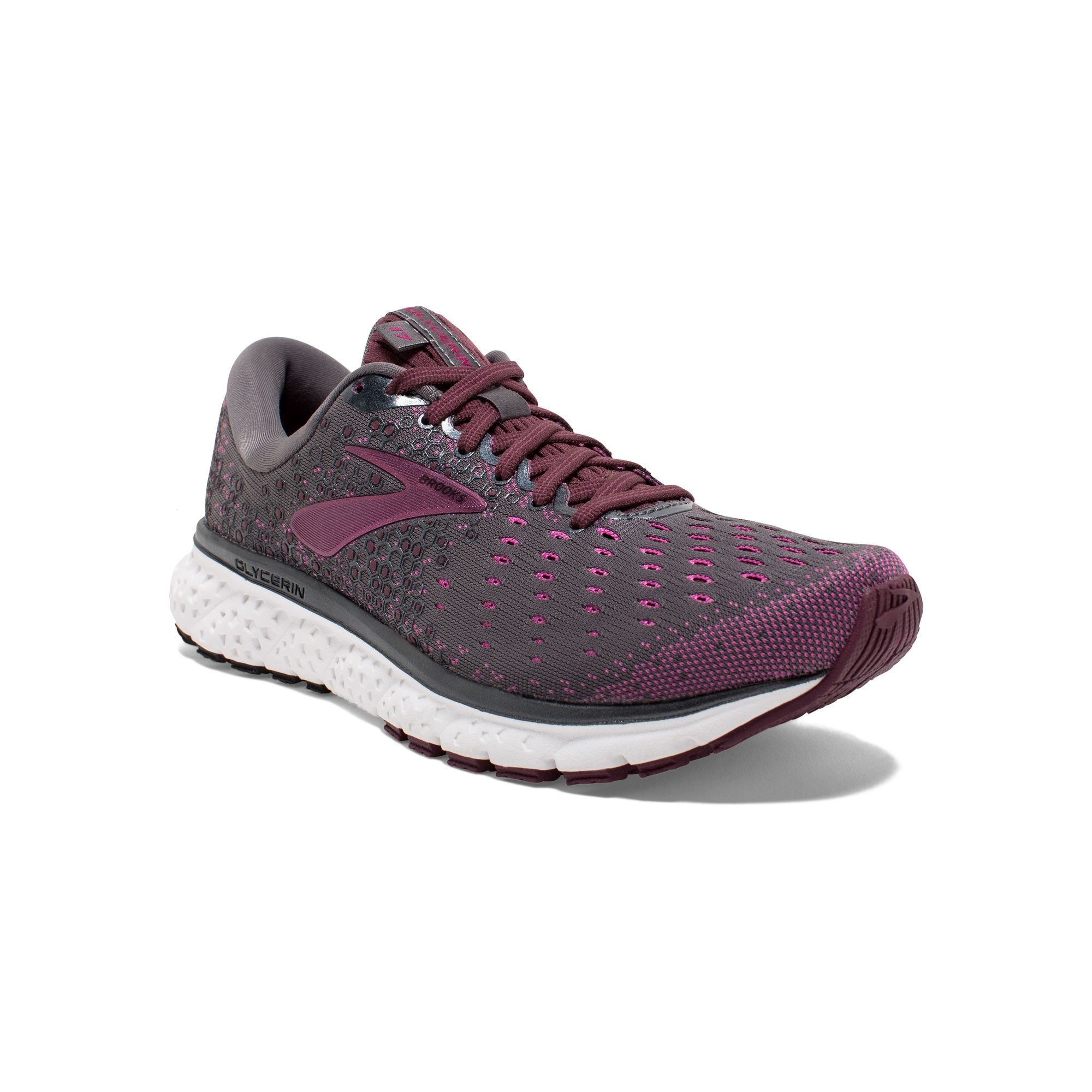 Brooks Lady Glycerin 17 in Lila
