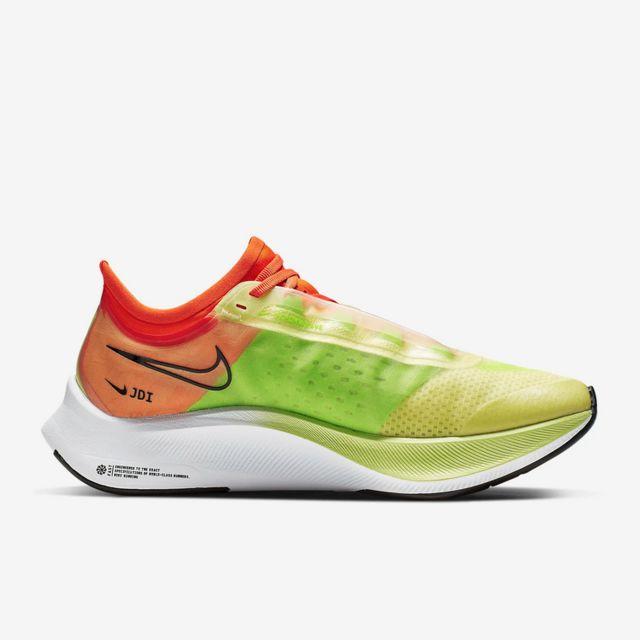 Nike Lady Zoom Fly 3 Rise in Grün Orange