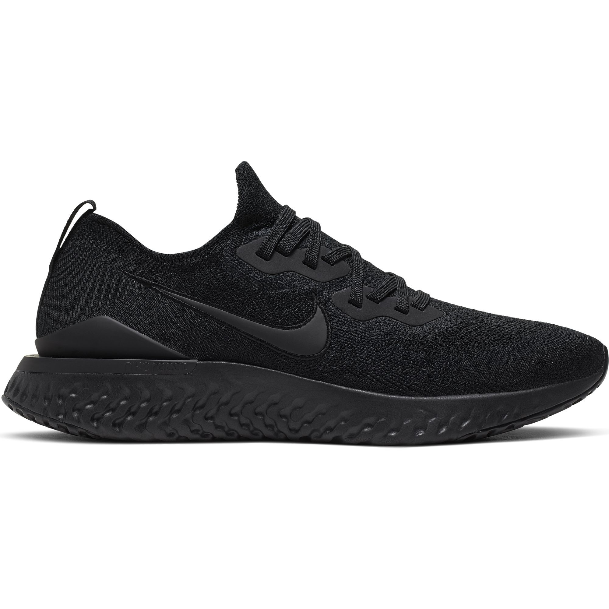 Nike Epic React Flyknit 2 in Schwarz