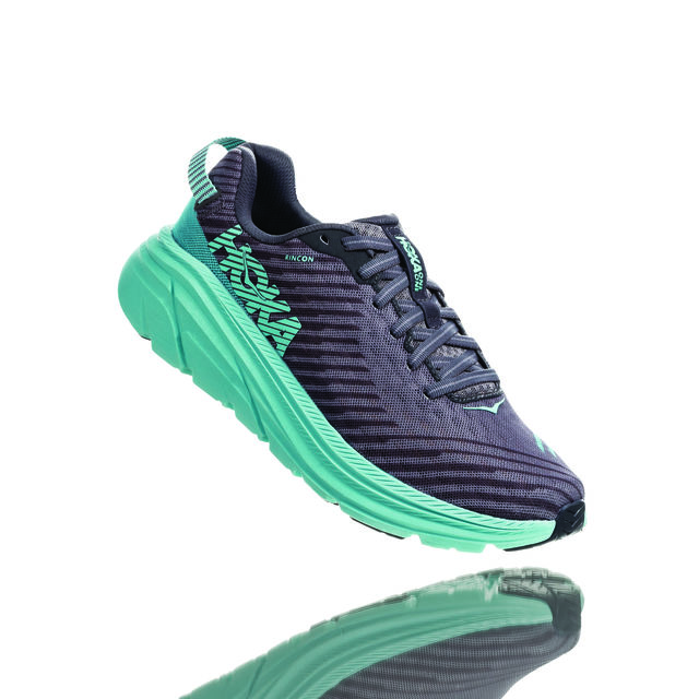 Hoka One One Lady Rincon (Charcoal Grey Aqua Sky)