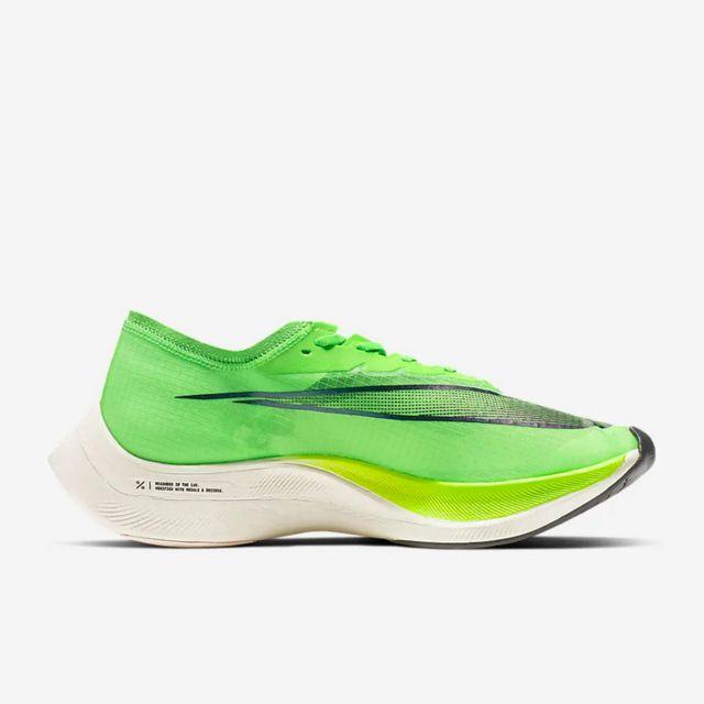 Nike ZoomX Vaporfly NEXT% in Grün