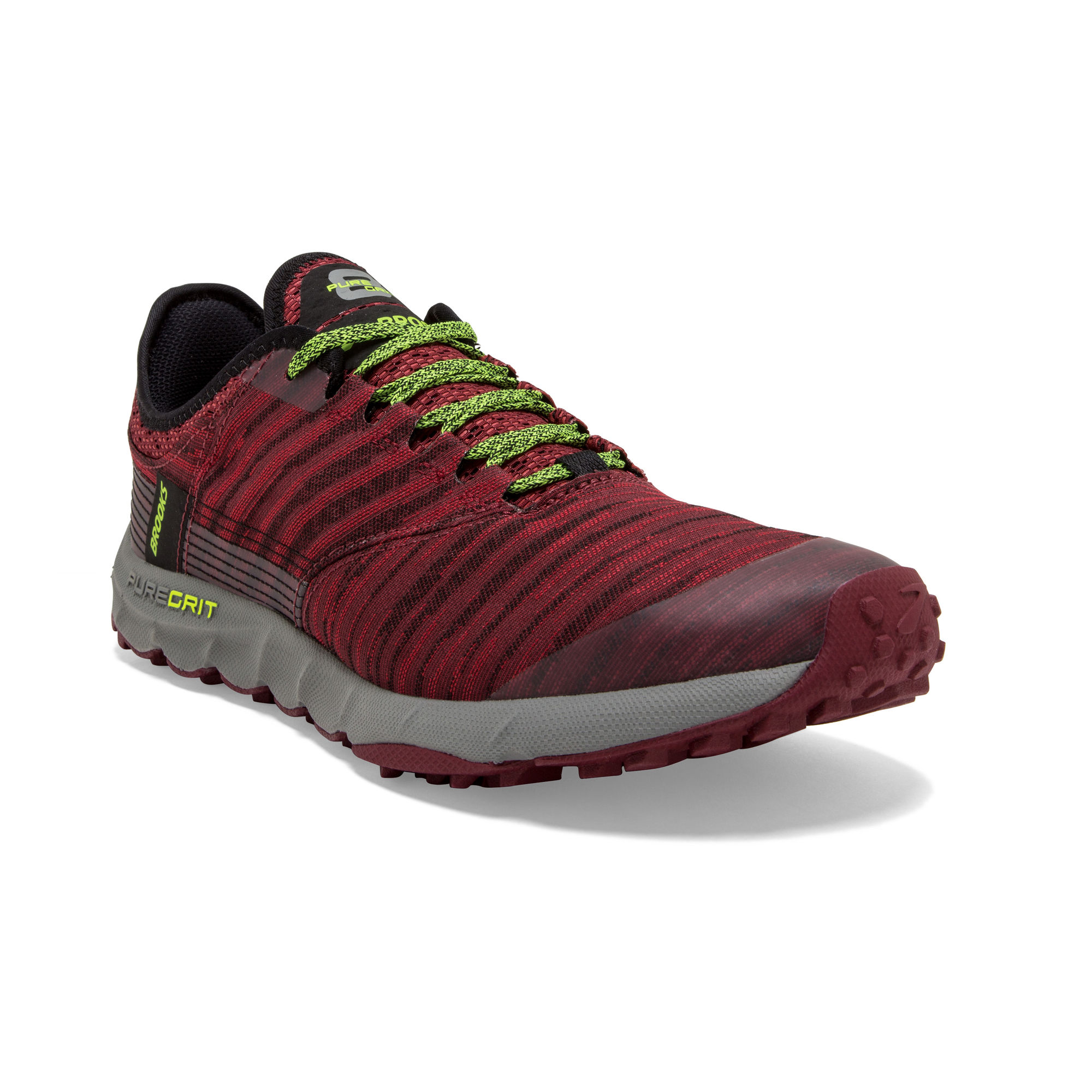Brooks PureGrit 8 in Rot