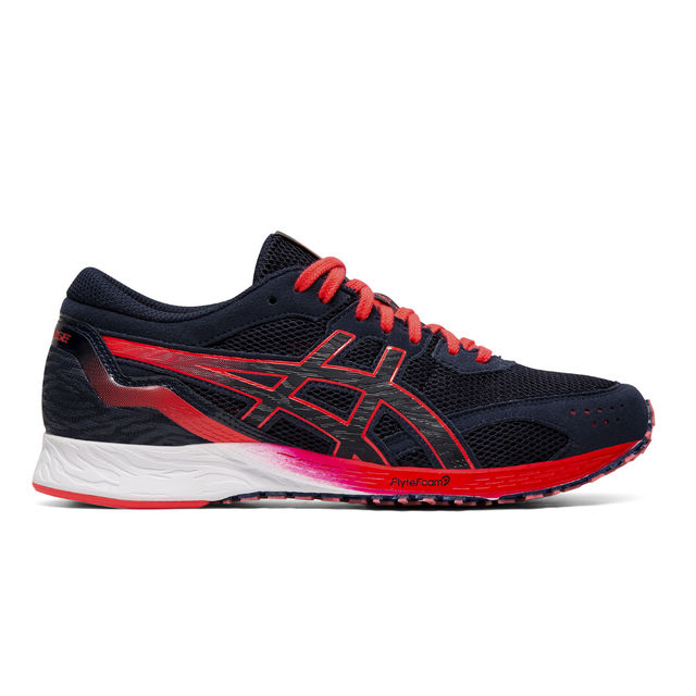 Asics Lady Tartheredge in Schwarz Rot