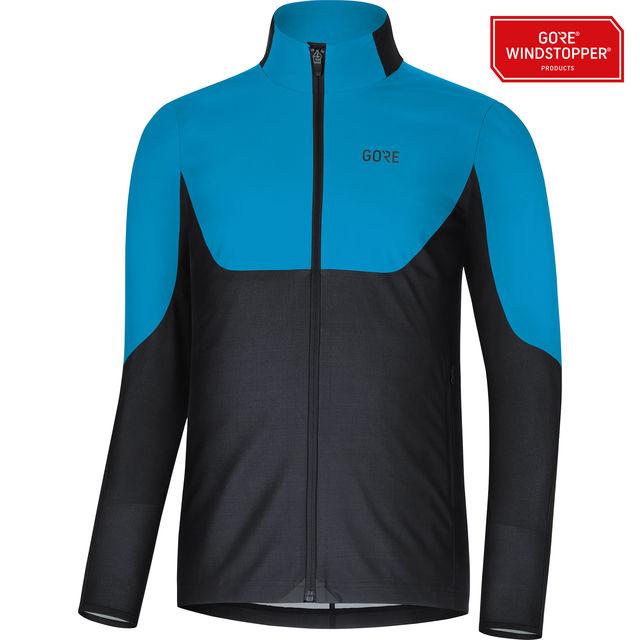 Gore R5 GWS Shirt in Schwarz Blau