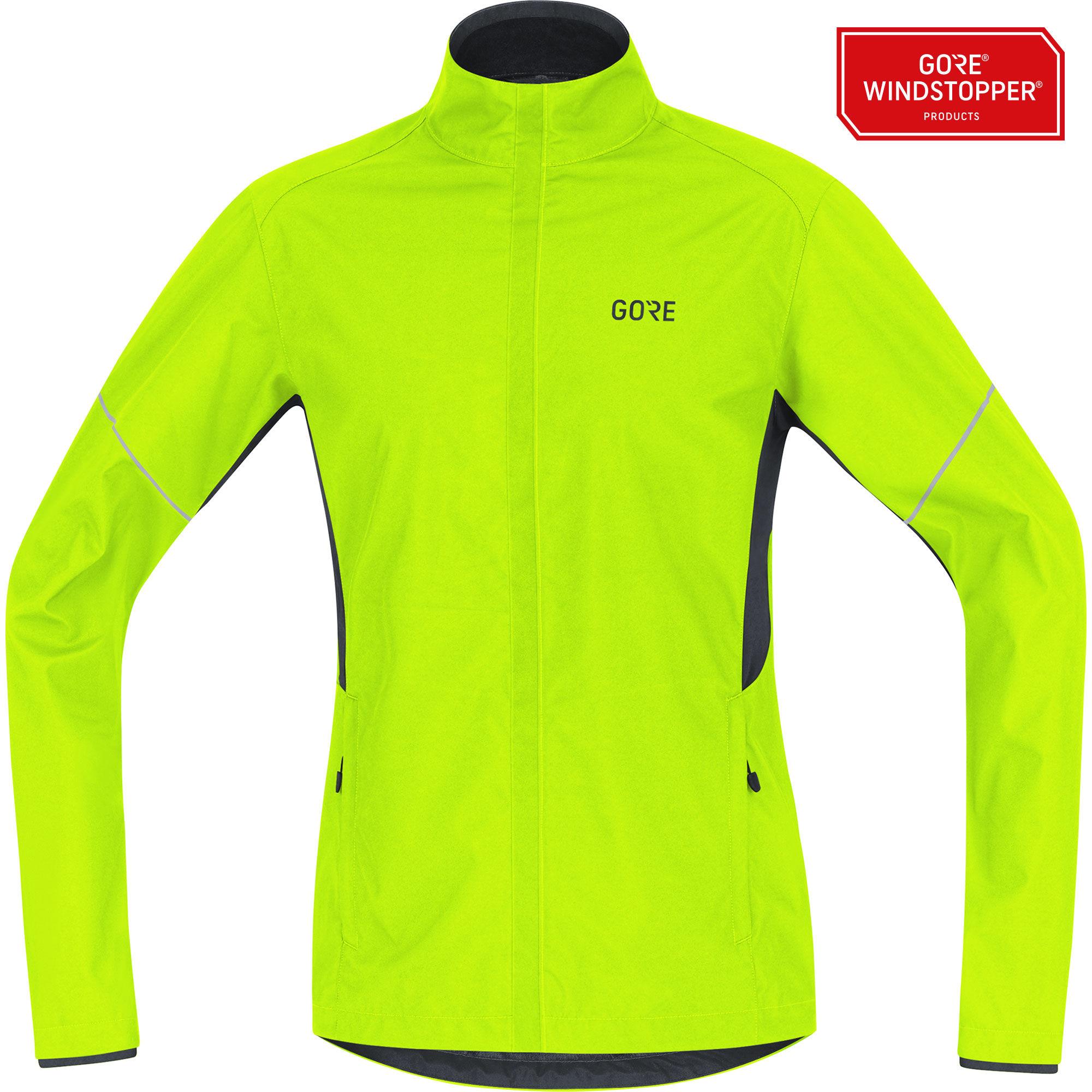 Gore R3 Partial GWS Jacke (Neon Gelb)