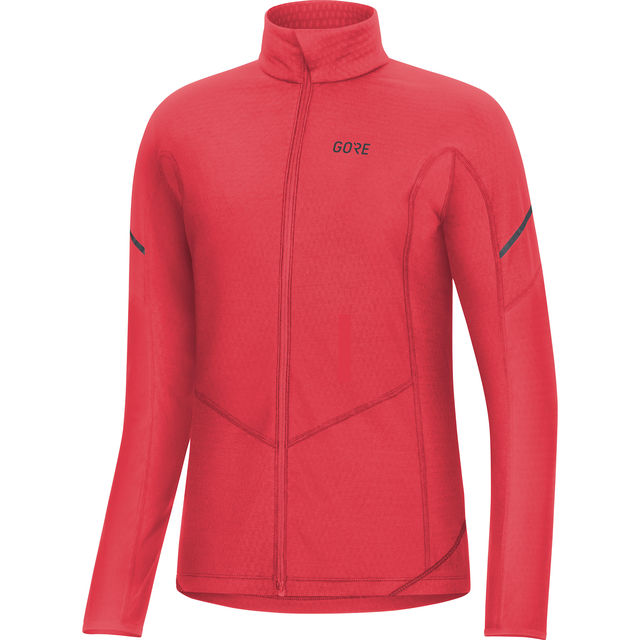 Gore Lady Thermo Zip Shirt Langarm in Orange