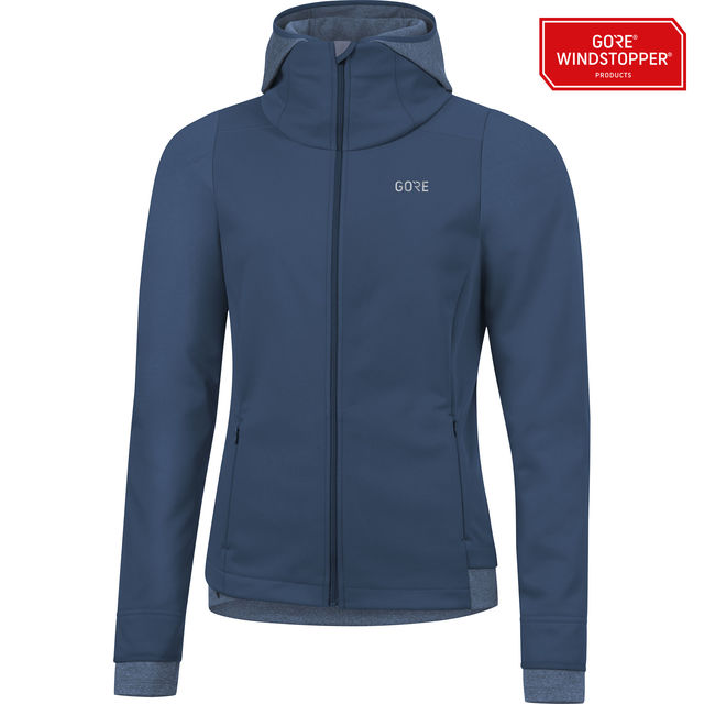 Gore R3 Lady GWS Thermo Hoodie (Deep Water Blue)