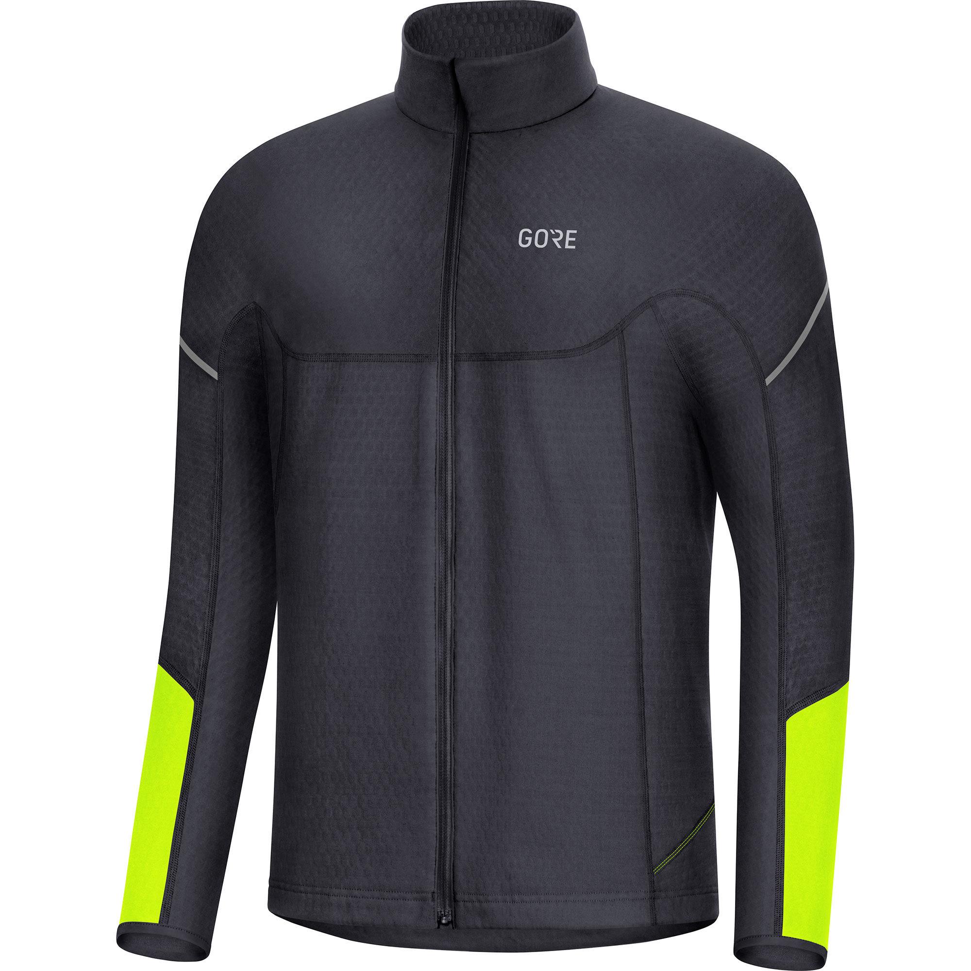 Gore Thermo LS Zip Shirt (Black Neon)