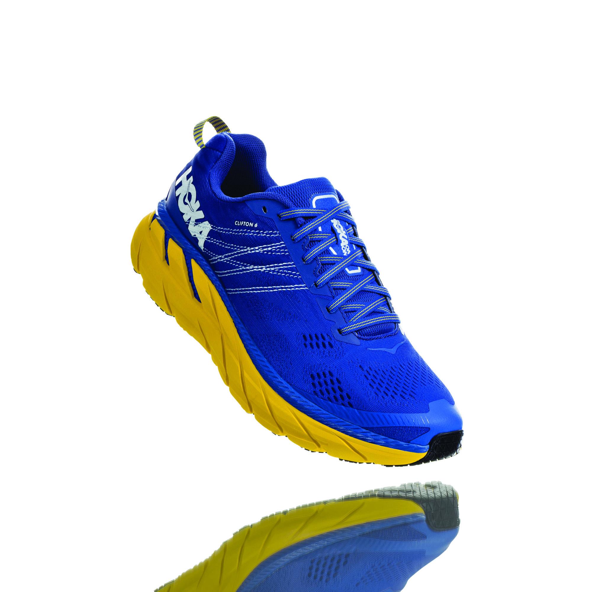 Hoka One One Clifton 6 (Blau Gelb)