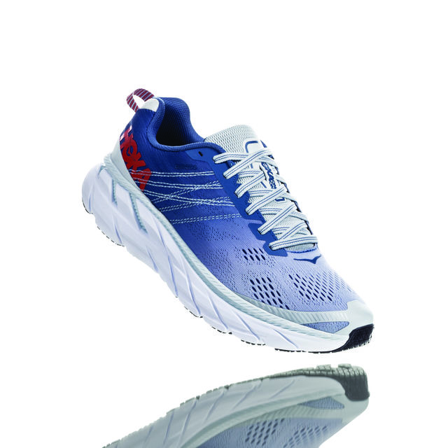 Hoka One One Lady Clifton 6 (Blau Grau Weiß)