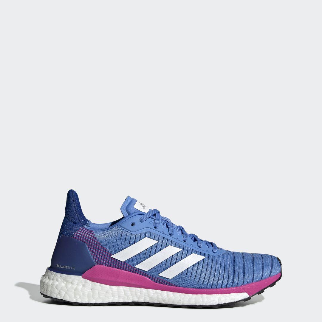 adidas SolarGlide 19 w in Blau Rosa
