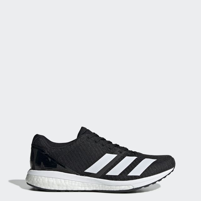 adidas Adizero Boston 8 w in Schwarz