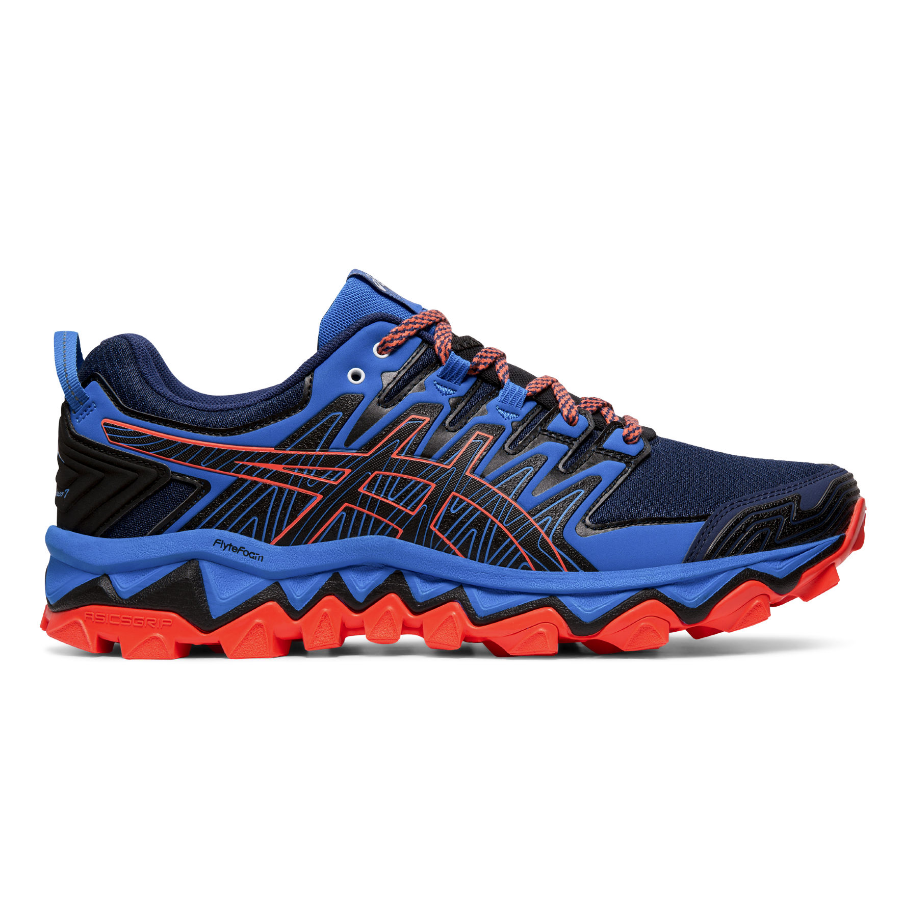 Asics Gel-Fujitrabuco 7 (Blau Orange)