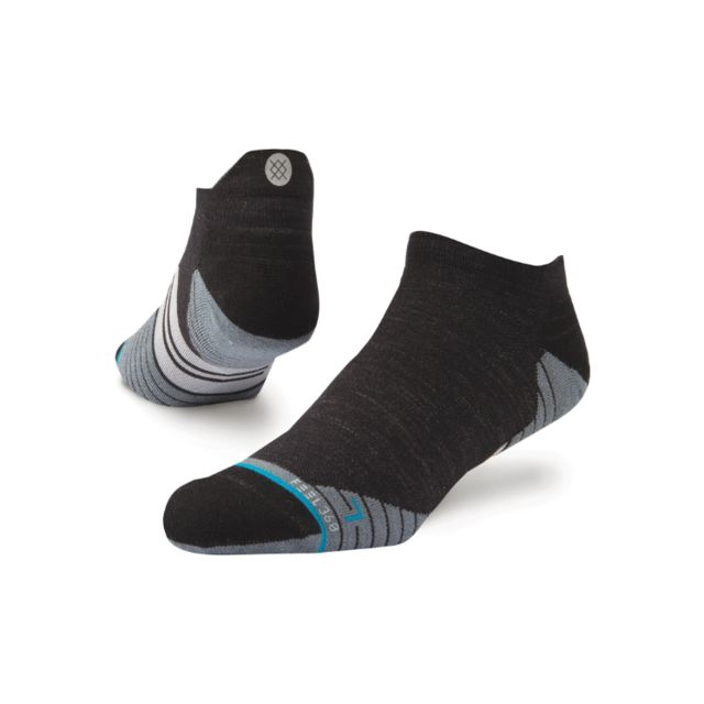 Stance Uncommon solid Wool Tab (Black)