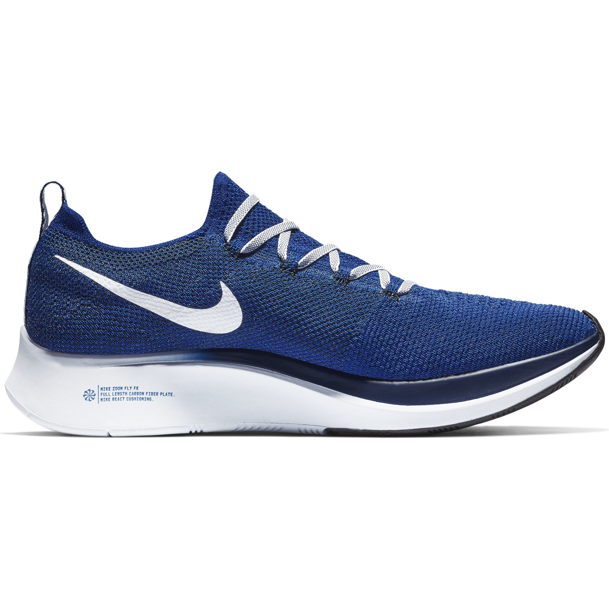Nike Zoom Fly Flyknit in Blau Weiß