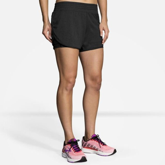 """Brooks Lady Rep 3"""" 2in1 Short"""