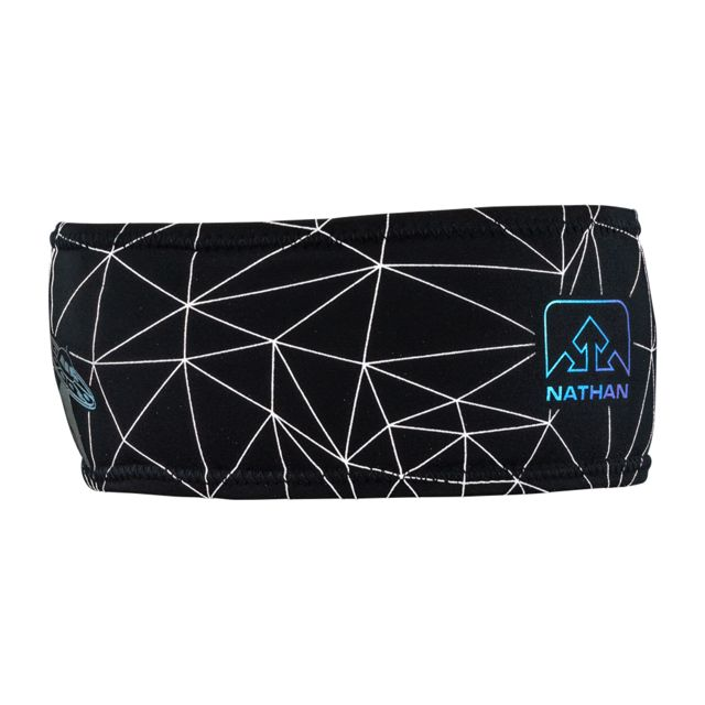 Nathan Reflective Headband in Schwarz Reflektion
