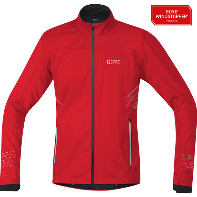 Gore R5 GWS Jacke in Rot