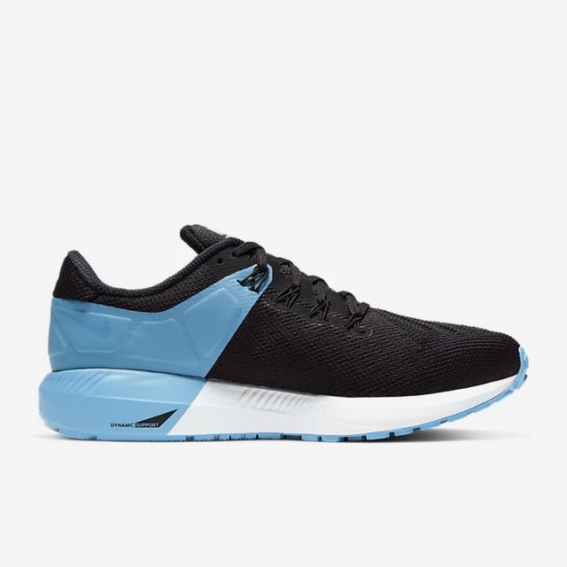 Nike Lady Air Zoom Structure 22 in Schwarz Blau Weiß