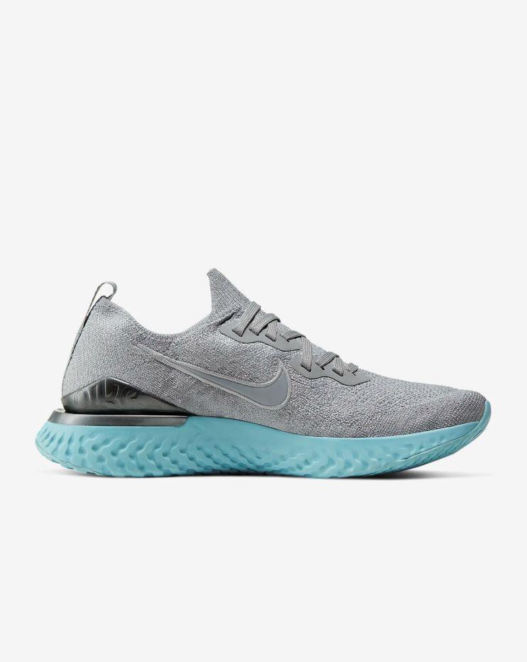 Nike Lady Epic React Flyknit 2 (Grau Grün)