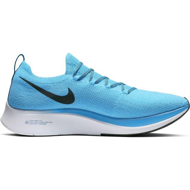 Nike Zoom Fly Flyknit in Blau