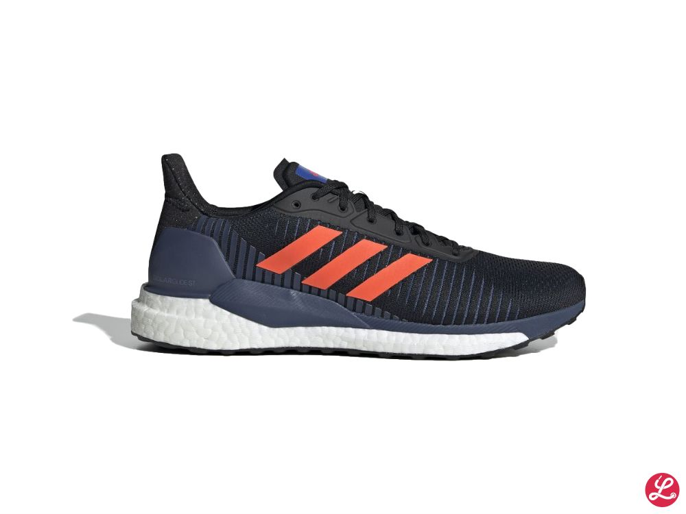 adidas SolarGlide ST 19 (Schwarz Blau Ornage Weiß)