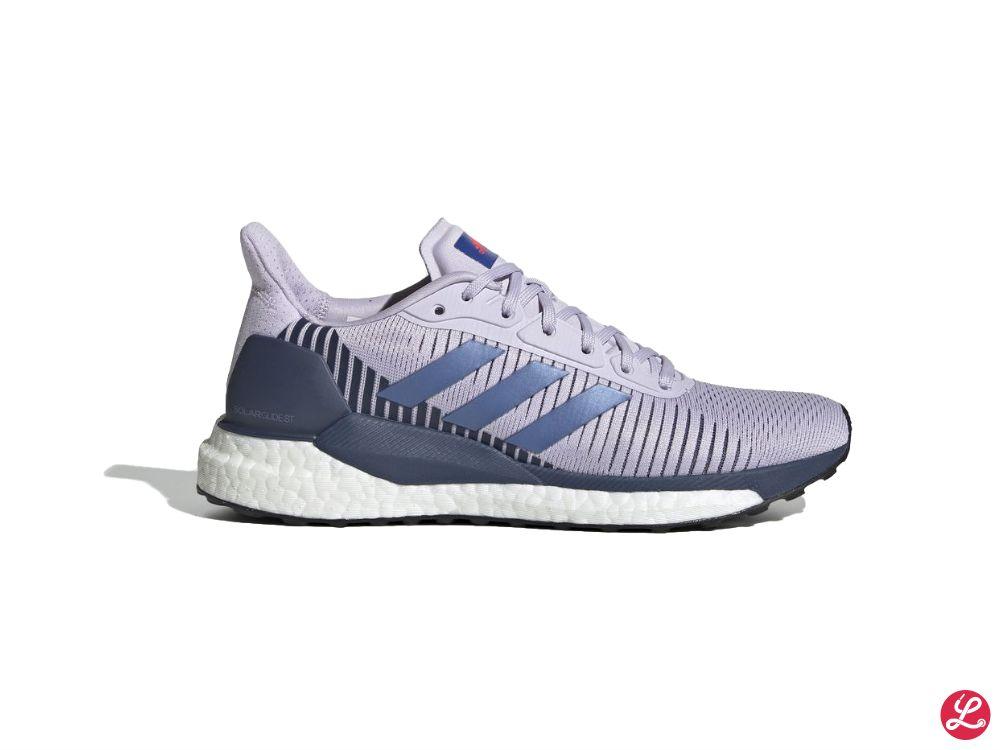 adidas SolarGlide ST 19 w (Lila Blau Weiß)