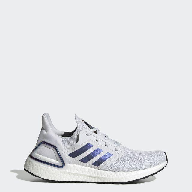 adidas UltraBoost 20 w in Weiß Blau