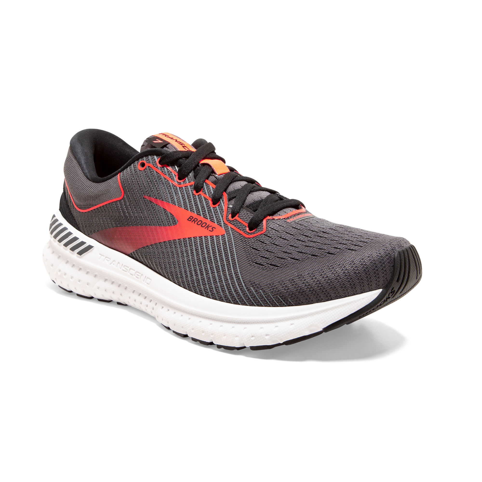 Brooks Lady Transcend 7 (Grau Rot)