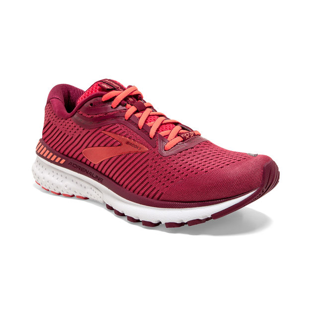 Brooks Lady Adrenaline 20 B (Rot)