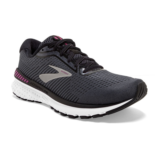 Brooks Lady Adrenaline 20 2A in Grau Weiß