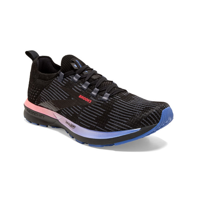 Brooks Lady Ricochet 2 in Schwarz Blau